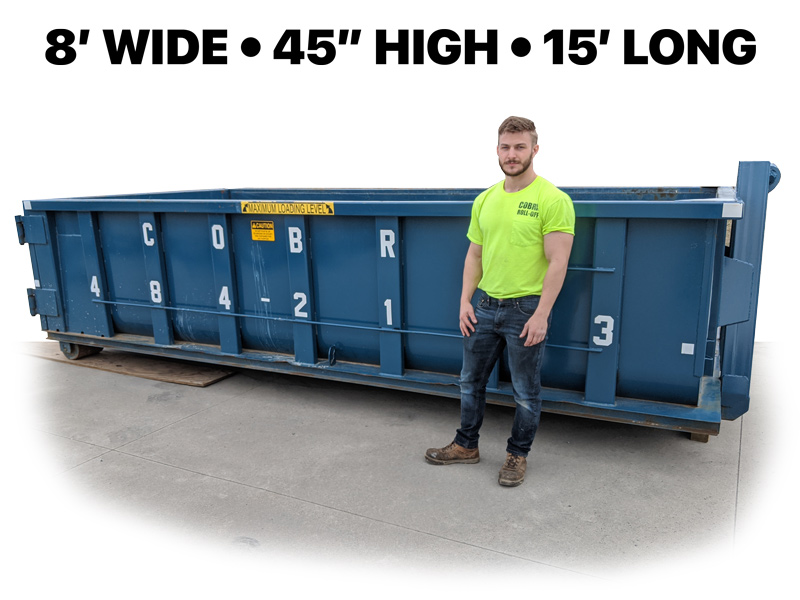 10-15 Yard Container
