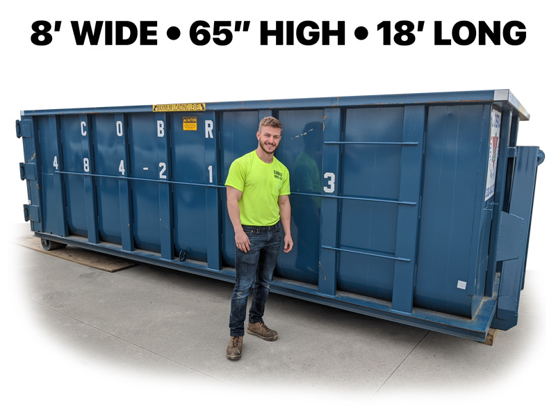 20-25 Yard Container